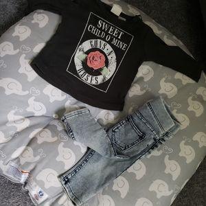Guns & Roses Shirt and Pants set